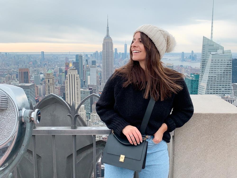 Un jour j'irai à New-York avec toi …